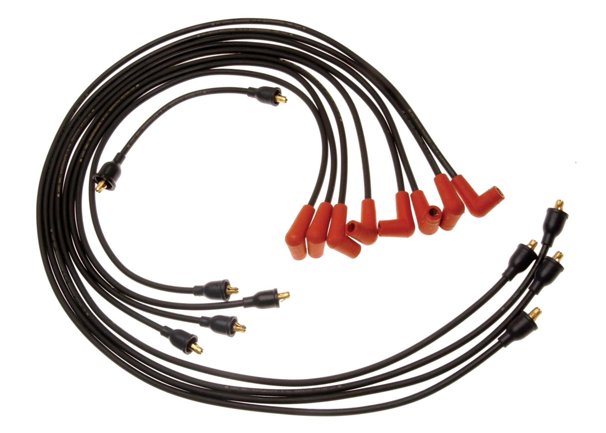 ACDELCO GM ORIGINAL EQUIPMENT - Spark Plug Wire Set - DCB 508N