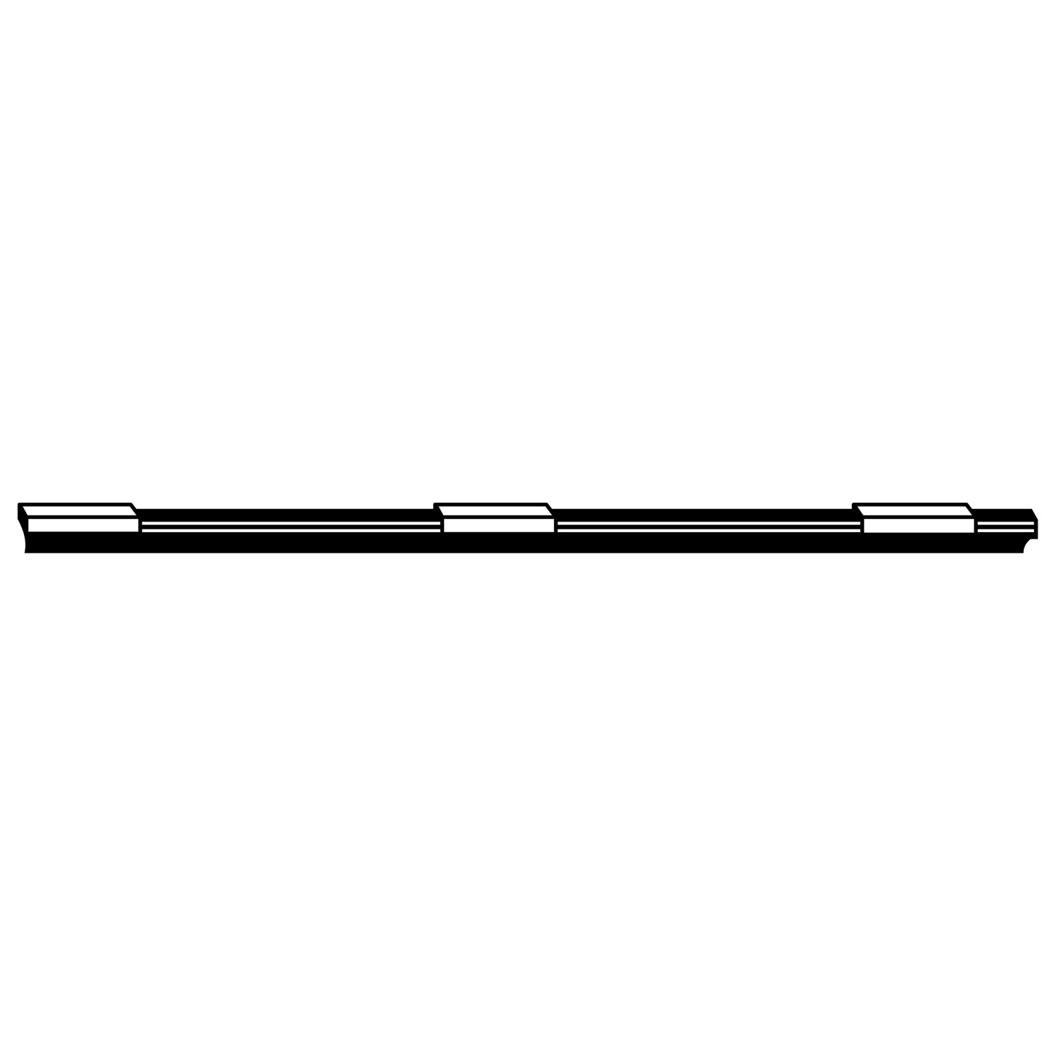 ACDELCO PROFESSIONAL - Performance Windshield Wiper Blade Refill - DCC 8-5207