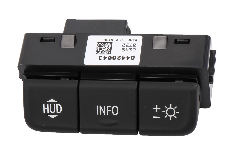 ACDELCO GM ORIGINAL EQUIPMENT - Heads Up Display Switch - DCB 84428043