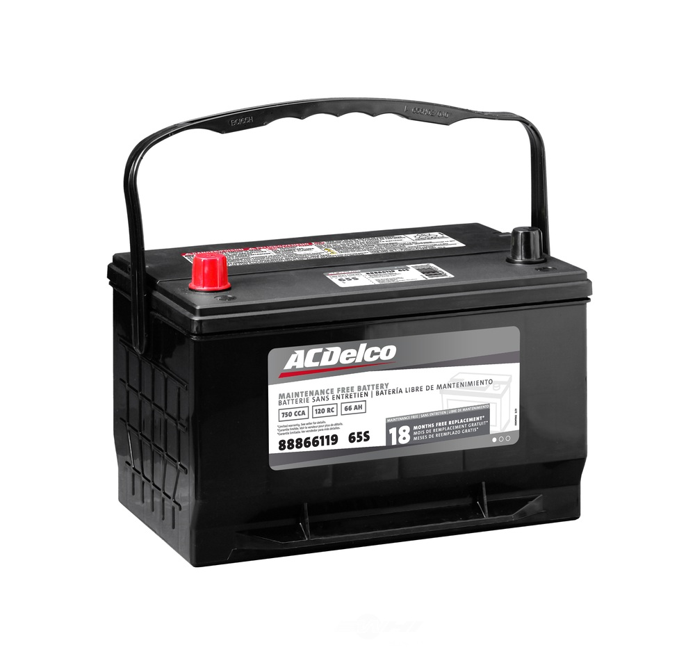 ACDELCO SILVER/ADVANTAGE - Vehicle Battery - DCD 65S
