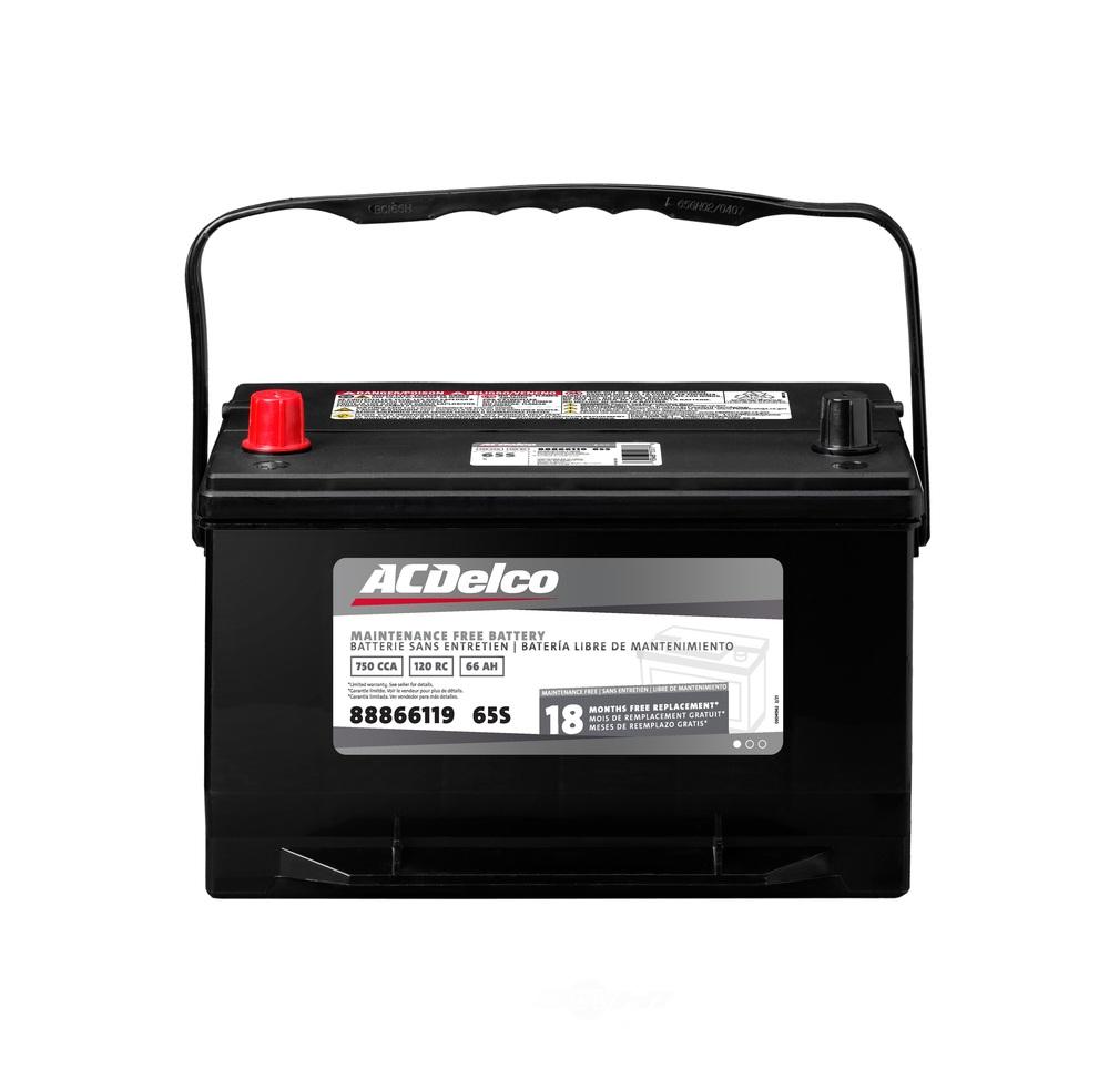 ACDELCO SILVER/ADVANTAGE - 18 Month Warranty - DCD 65S