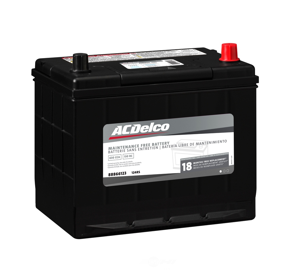 ACDELCO SILVER/ADVANTAGE - 18 Month Warranty - DCD 124RS