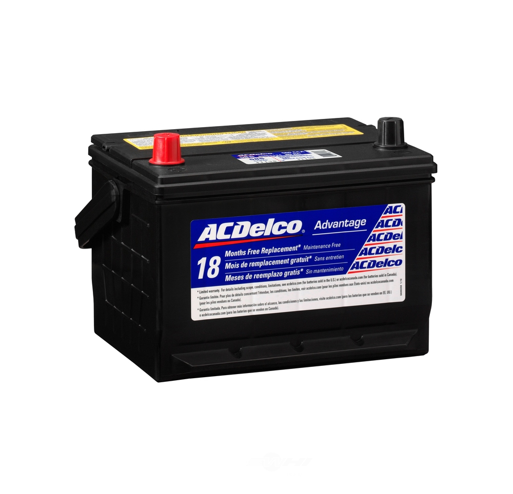 ACDELCO SILVER/ADVANTAGE - Vehicle Battery - DCD 58S
