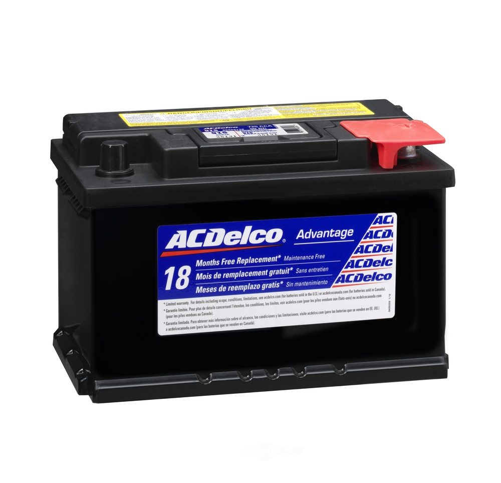 ACDELCO SILVER/ADVANTAGE - Vehicle Battery - DCD 91S