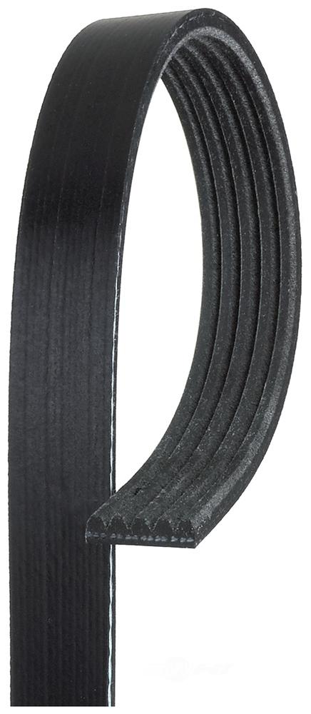 ACDELCO GOLD/PROFESSIONAL - Standard Serpentine Belt (Water Pump and Alternator) - DCC 5K365