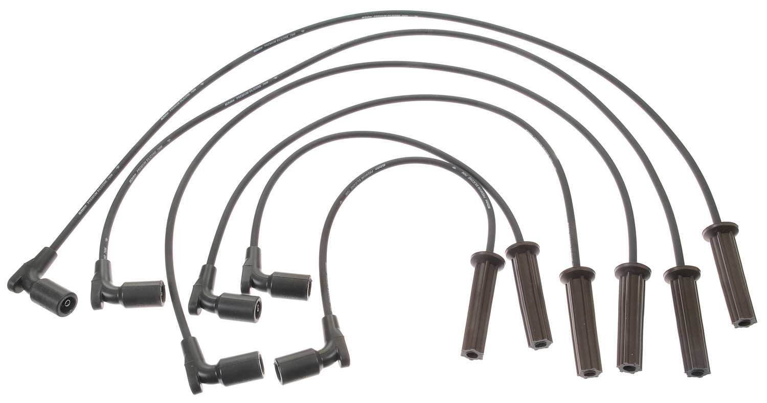 ACDELCO PROFESSIONAL - Spark Plug Wire Set - Part Number: 9746TT