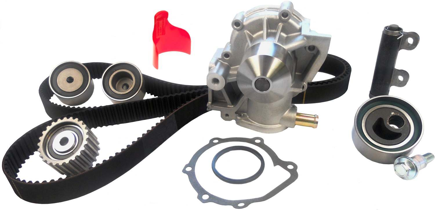 ACDELCO PROFESSIONAL - Engine Timing Belt Component Kit Incl Water Pump - DCC TCKWP277B
