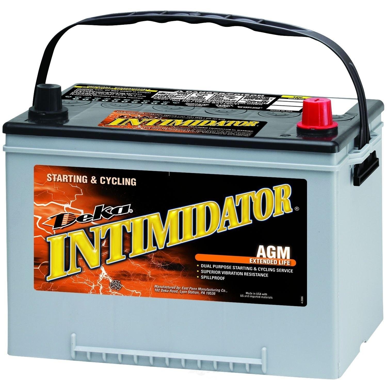 DEKA - Intimidator Agm Valve Regulated Battery (Front) - DEK 9A34R