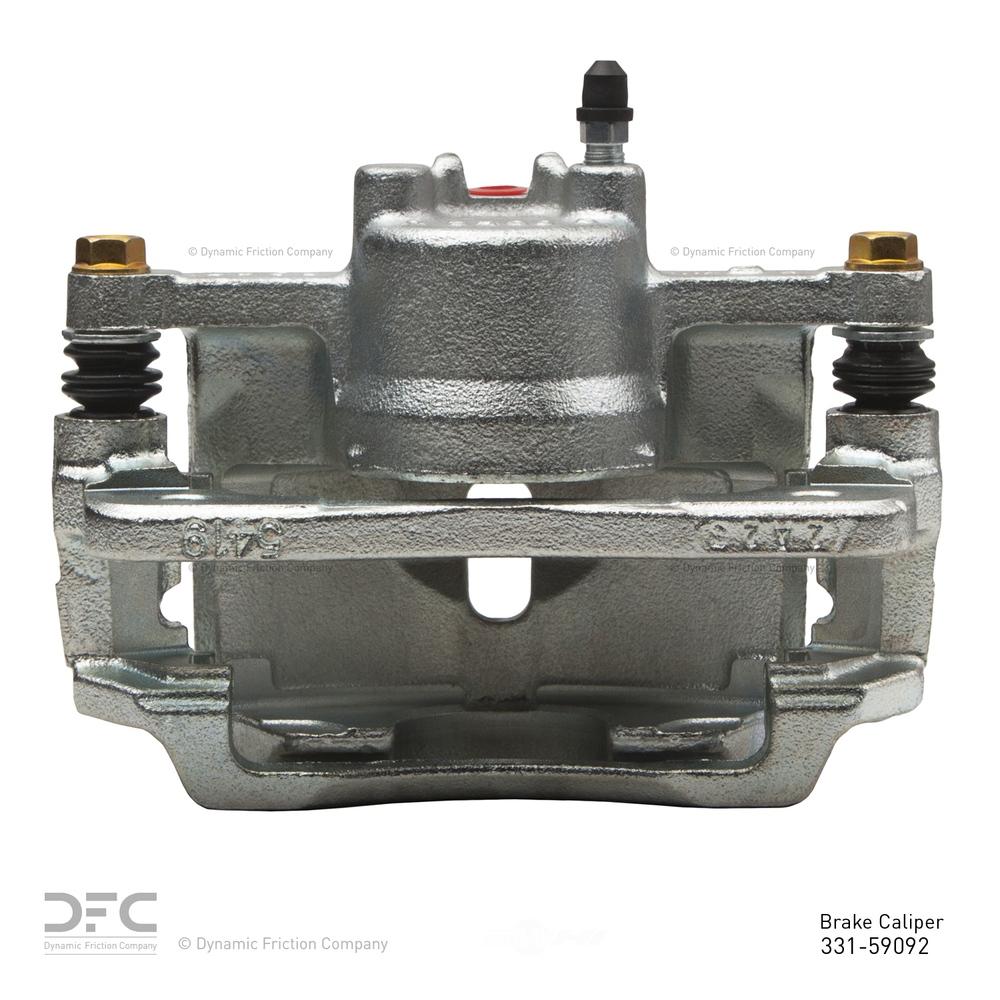 DFC - Dfc Premium Caliper - Silver Zinc Coated - DF1 331-59092
