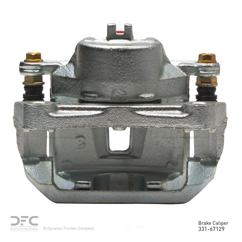 DFC - Dfc Premium Caliper - Silver Zinc Coated - DF1 331-67129
