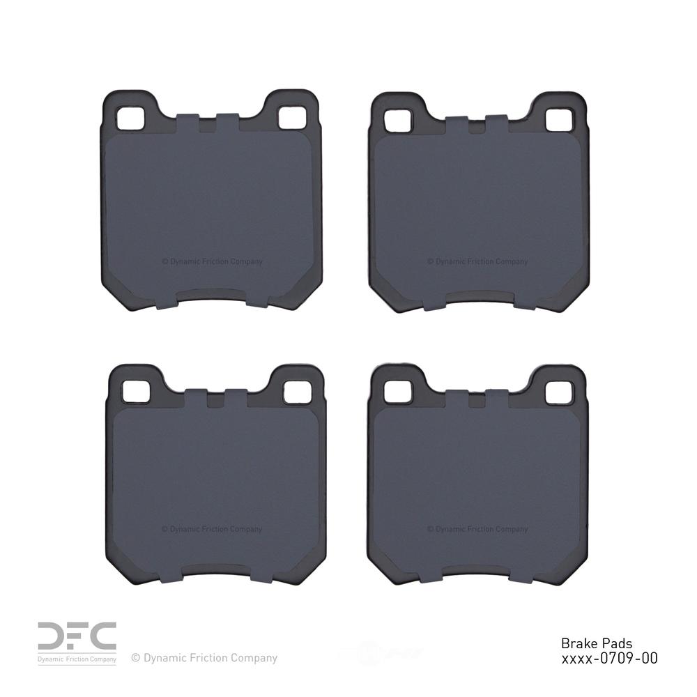 DFC - Premium Semi-Metallic Pads - DF1 1311-0709-00