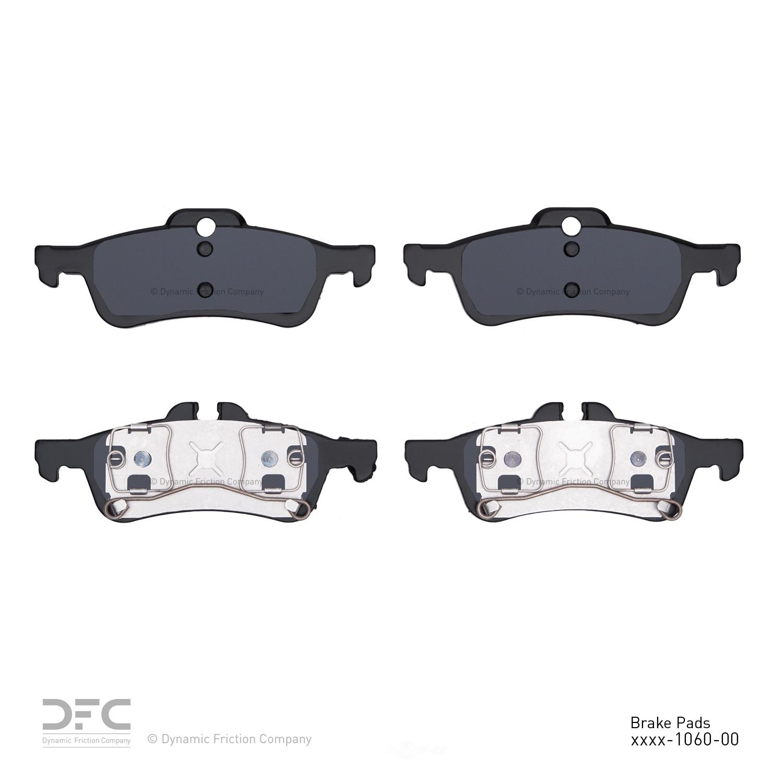DFC - Premium Semi-Metallic Pads - DF1 1311-1060-00