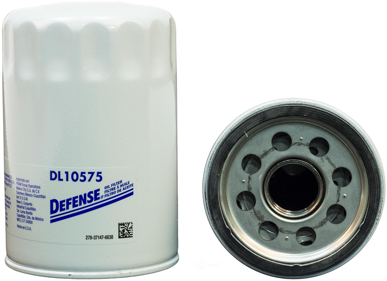DEFENSE FILTERS (FRAM) - Engine Oil Filter - DFN DL10575