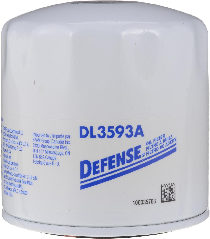 DEFENSE FILTERS (FRAM) - Engine Oil Filter - DFN DL3593A