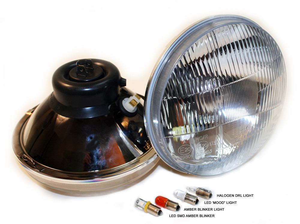DELTA LIGHT - Headlight - DLG 01-1189-SMDW