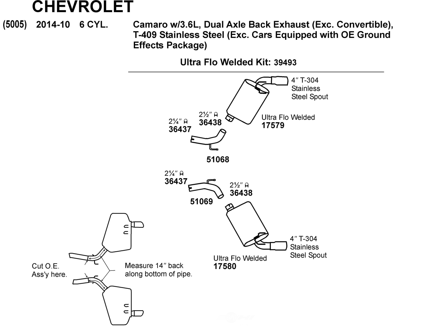 Buy Exhaust And Clutch Parts for CHEVROLET vehicle ...