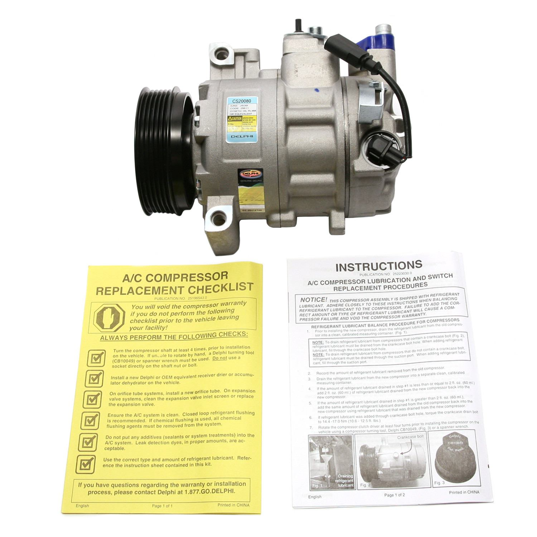 DELPHI - A/C Compressor - DPH CS20080
