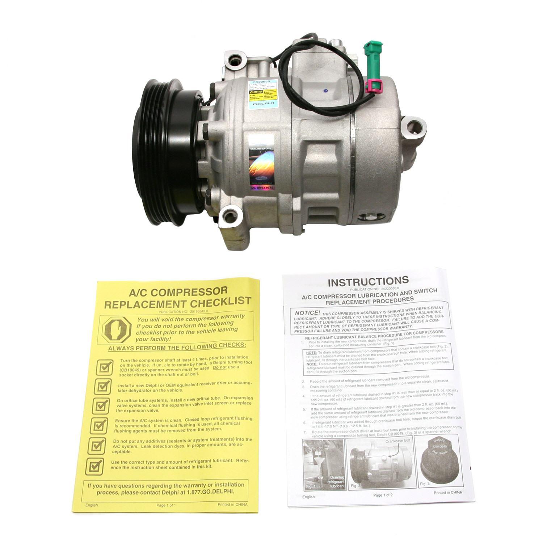 DELPHI - A/C Compressor - DPH CS20085