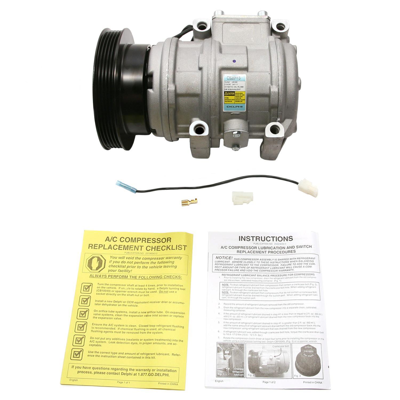 DELPHI - A/C Compressor - DPH CS20113