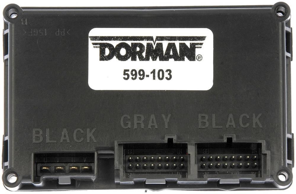 DORMAN OE SOLUTIONS - Transfer Case Control Module - DRE 599-103