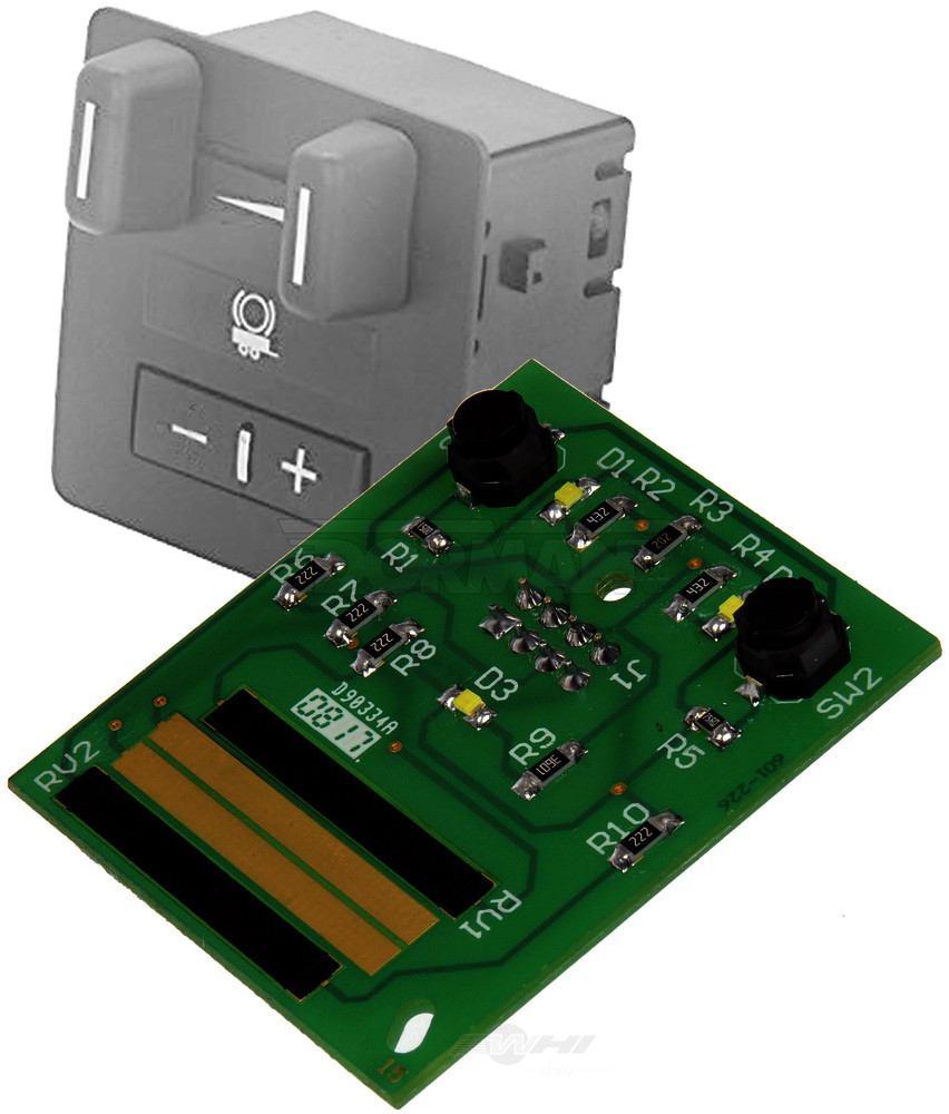 DORMAN OE SOLUTIONS - Trailer Brake Control Module Circuit Board - DRE 601-226