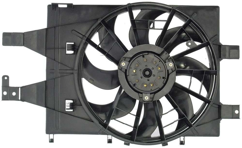 DORMAN OE SOLUTIONS - Engine Cooling Fan Assembly - DRE 620-008