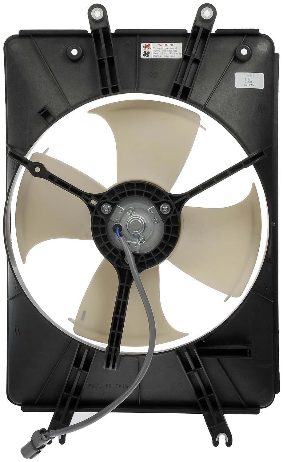 DORMAN OE SOLUTIONS - A/C Condenser Fan Assembly - DRE 620-241