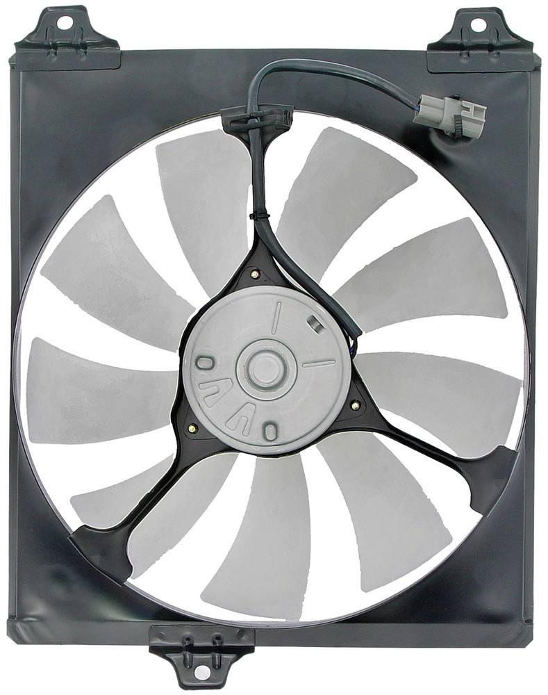 DORMAN OE SOLUTIONS - A/C Condenser Fan Assembly (Left) - DRE 620-523