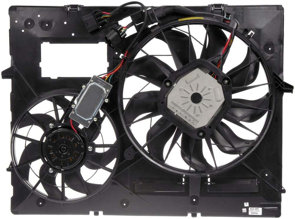 DORMAN OE SOLUTIONS - Engine Cooling Fan Assembly - DRE 621-451