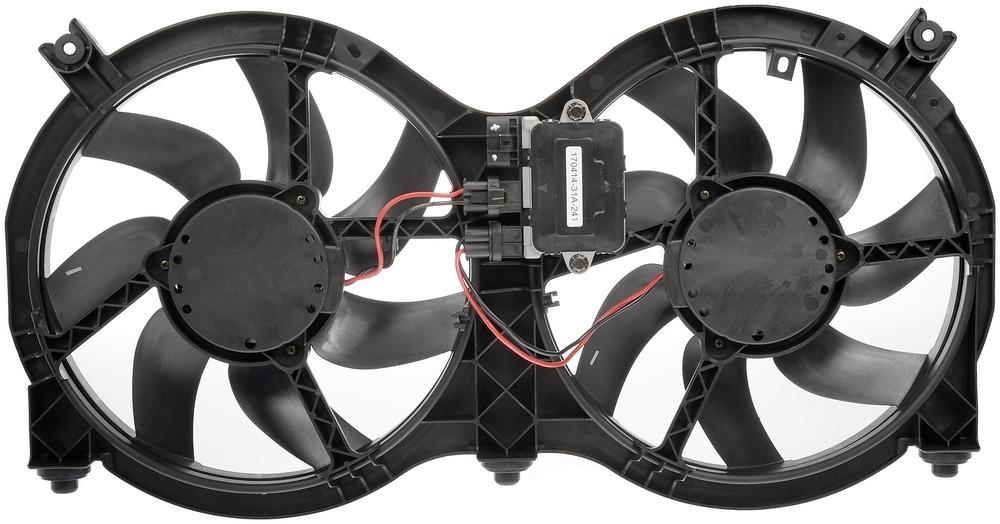 DORMAN OE SOLUTIONS - Engine Cooling Fan Assembly - DRE 621-586