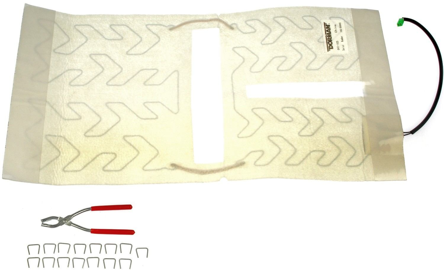 DORMAN OE SOLUTIONS - Seat Heater Pad (Front) - DRE 641-105