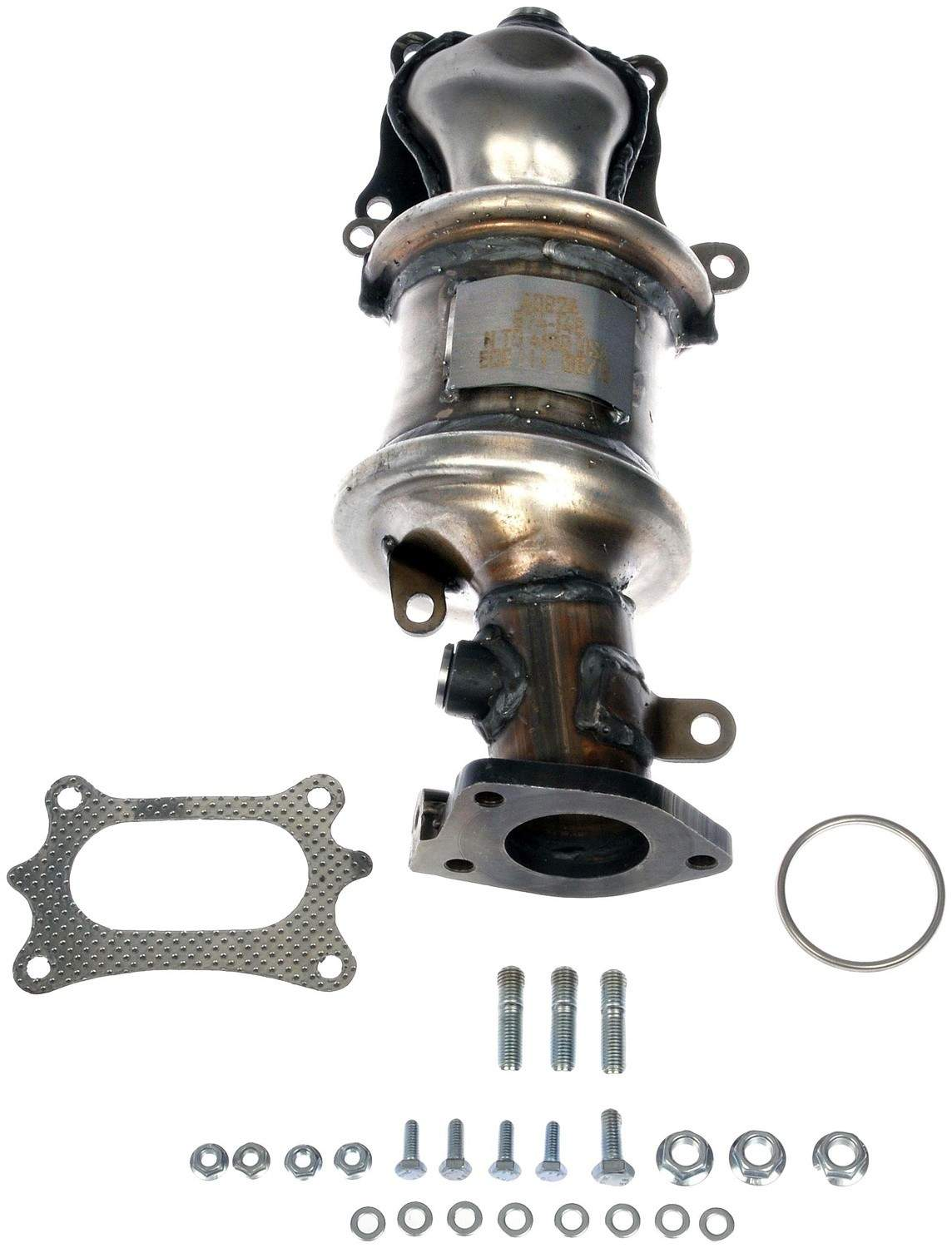 DORMAN OE SOLUTIONS - Exhaust Manifold with Integrated Catalytic Converter (Rear) - DRE 674-146