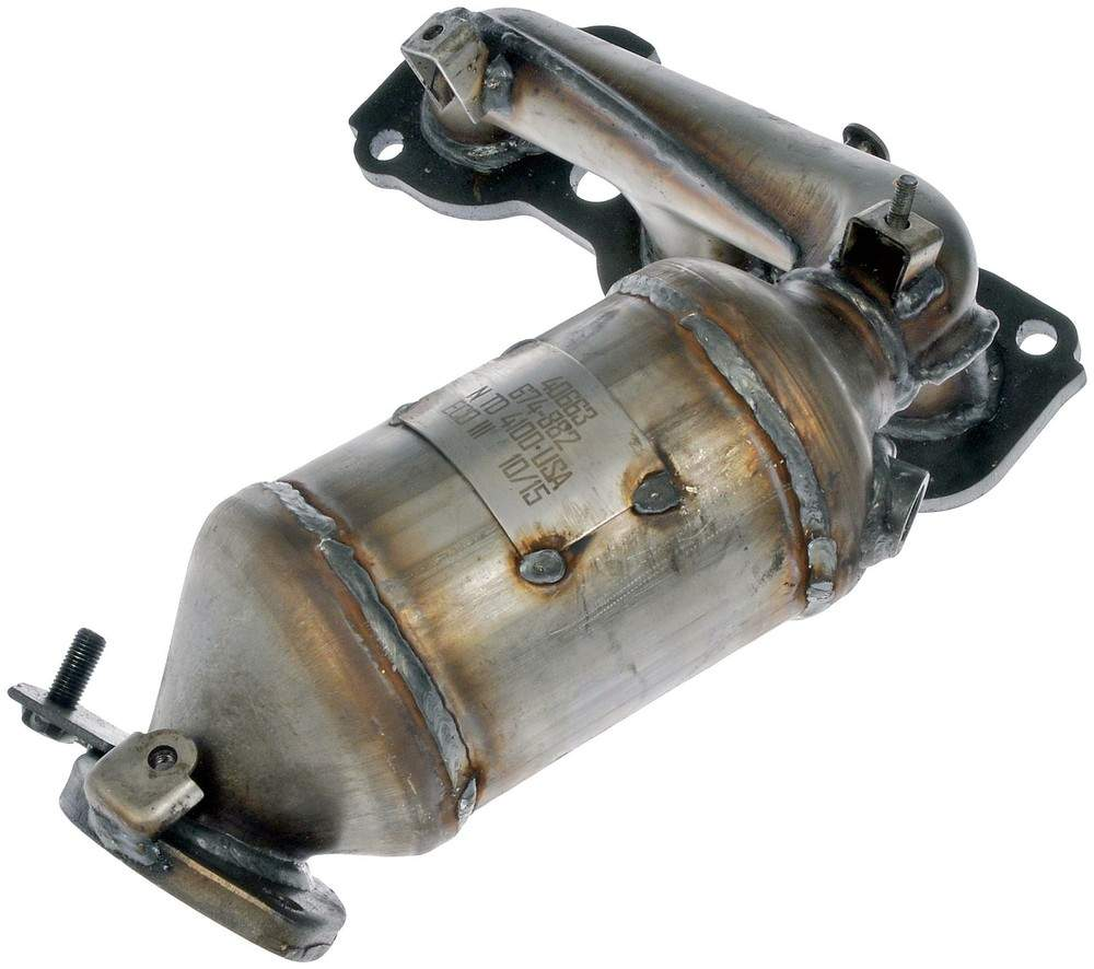 DORMAN OE SOLUTIONS - Exhaust Manifold with Integrated Catalytic Converter - DRE 674-882
