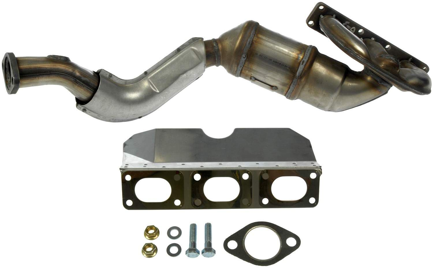 DORMAN OE SOLUTIONS - Exhaust Manifold with Integrated Catalytic Converter - DRE 674-897
