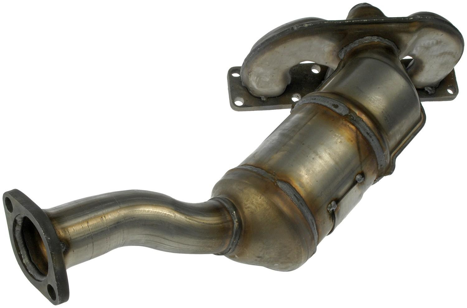 DORMAN OE SOLUTIONS - Exhaust Manifold with Integrated Catalytic Converter - DRE 674-898