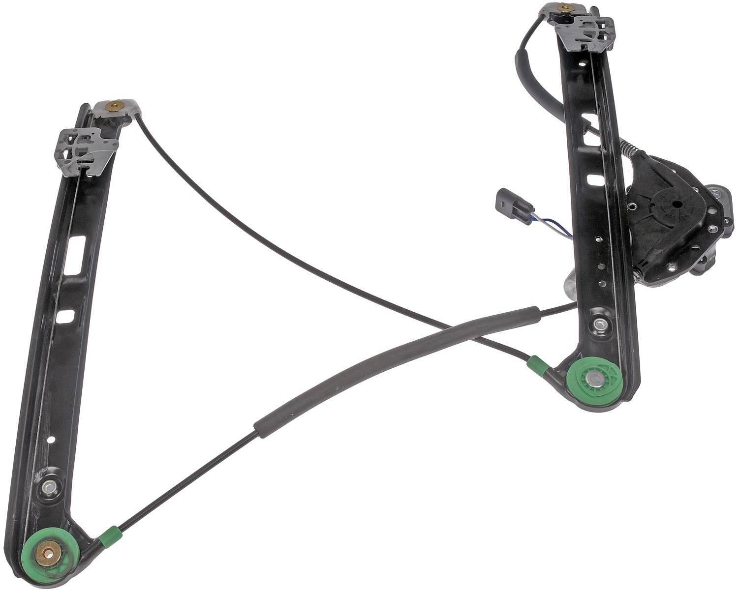 DORMAN OE SOLUTIONS - Power Window Motor and Regulator Assembly (Front Left) - DRE 741-484