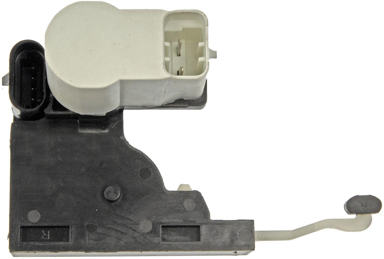DORMAN OE SOLUTIONS - Tailgate Lock Actuator Motor - DRE 746-011