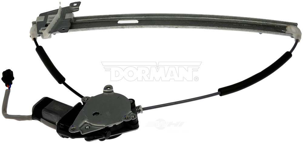 DORMAN OE SOLUTIONS - Power Window Motor And Regulator Assembly (Front Right) - DRE 751-297