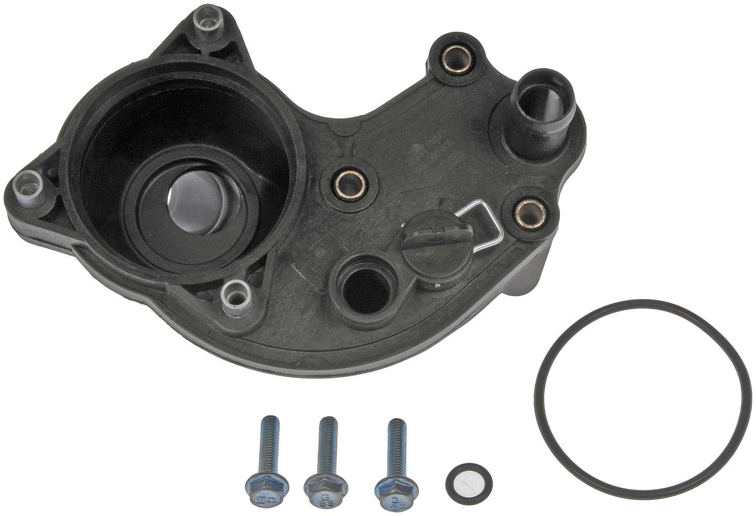 DORMAN OE SOLUTIONS - Engine Coolant Thermostat Housing Assembly - DRE 902-060