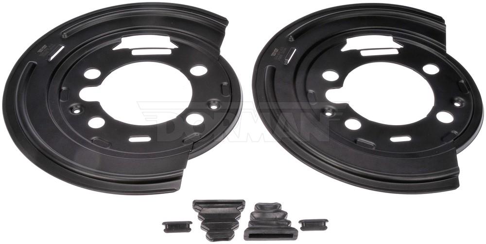 DORMAN OE SOLUTIONS - Brake Dust Shield (Rear) - DRE 924-493