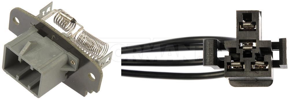 DORMAN OE SOLUTIONS - HVAC Blower Motor Resistor Kit - DRE 973-412
