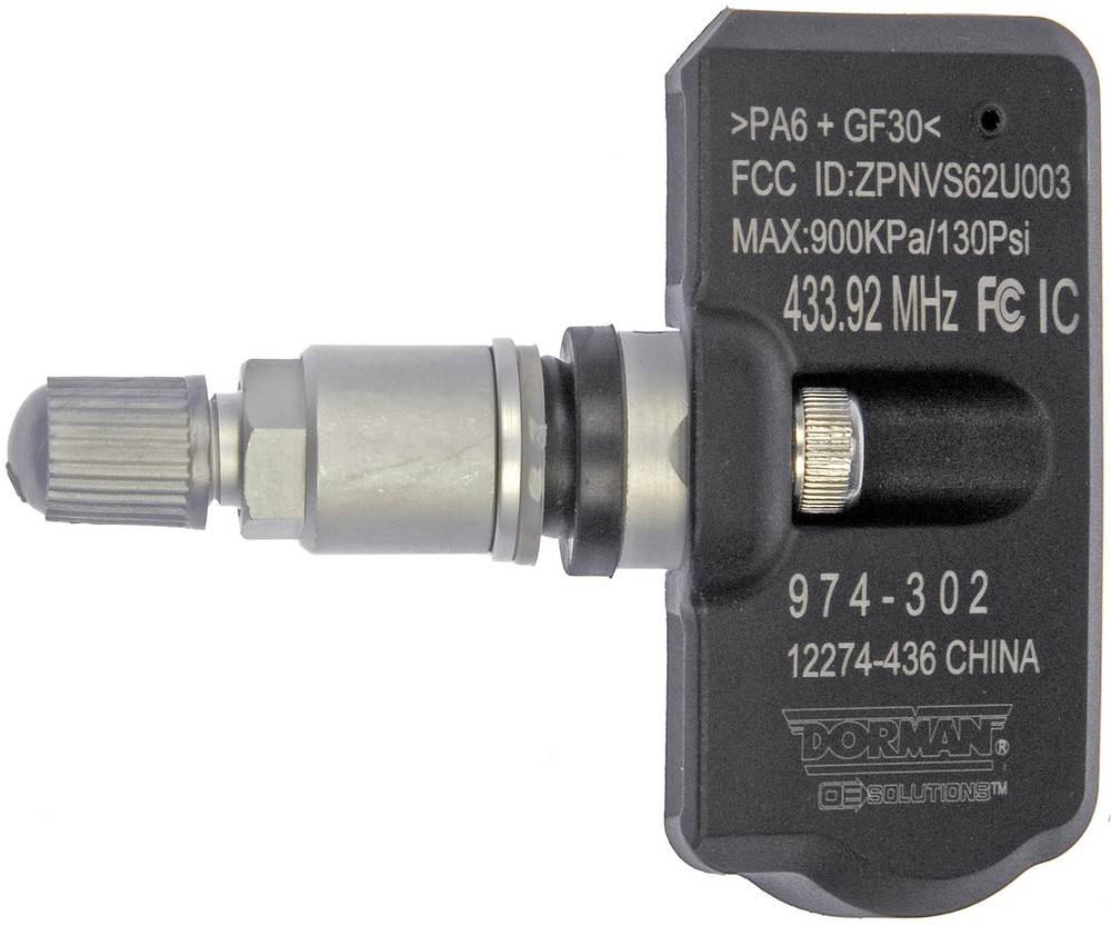 DORMAN OE SOLUTIONS - Tire Pressure Monitoring System(TPMS) Programmable Sensor - DRE 974-302