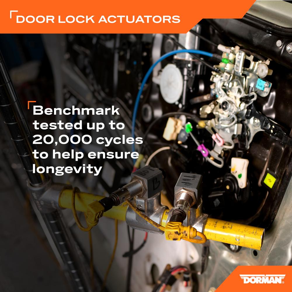 DORMAN OE SOLUTIONS - Door Lock Actuator Motor - DRE 931-664
