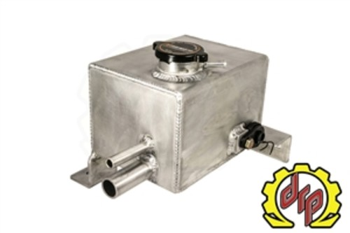 DEVIANT RACE PARTS - Lmm Fabricated Coolant Tank for Twin Turbo Trucks - DRP 74600