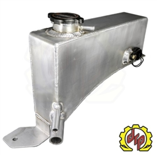 DEVIANT RACE PARTS - LLY/LBZ Fabricated Coolant Tank for Twin Turbo Trucks - DRP 74610