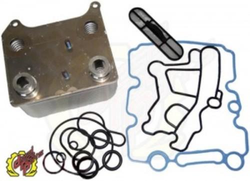 DEVIANT RACE PARTS - 6.0L Powerstroke Oil Cooler Kit - DRP 93610