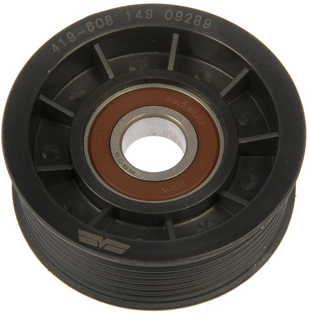 DORMAN - TECHOICE - Accessory Drive Belt Tensioner Pulley (Grooved Pulley) - DTC 419-608