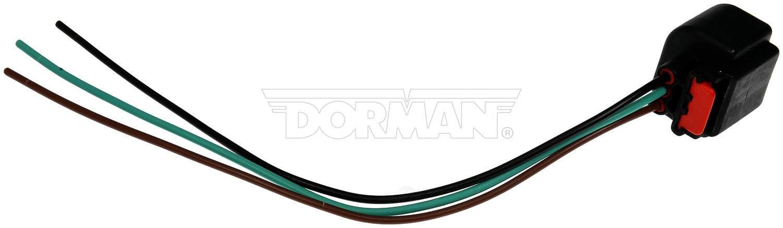 DORMAN - TECHOICE - Headlight Socket - DTC 645-303
