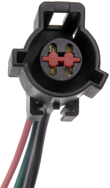DORMAN - TECHOICE - Fuel Pump Harness Connector - DTC 645-708