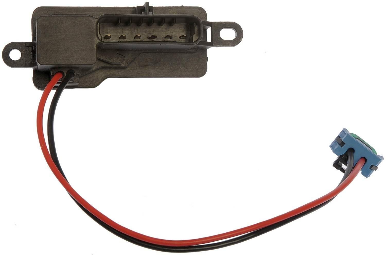 DORMAN - TECHOICE - Hvac Blower Motor Resistor (Front) - DTC 973-007